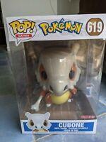 Funko Pop! Cubone 10inch Pokemon Vinyl Figure Target Exclusive IN HAND