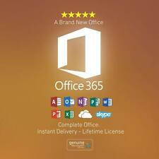 Microsoft Office 365 Lifetime 5 PC WIN MAC With 1,025 GB Onedrive Cloud Space