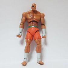 "Jazwares 5.5"" Street Fighter Series SAGAT Loose Action Figure Toy"