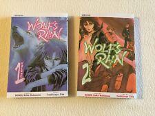 JAPAN Wolf's Rain Manga #1~2 Complete Set Bones comic book OOP