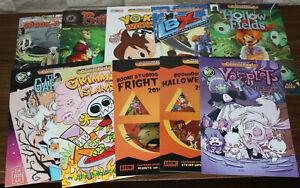 10x Comic Book Bundle - Yo-Kai Watch, Vamplets, Spook-a-rama, Bitten, IBX - Fest