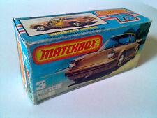 Boîte copie repro MATCHBOX Superfast N° 3 Porsche Turbo ( reproduction box vide