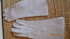VINTAGE - gants femme cérémonie - marque GUIBERT FRERES - taille 6 1/2