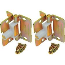 Pair Folding Door Shock Absorbing Spring Hinges by Johnson Hardware 1703PPK2