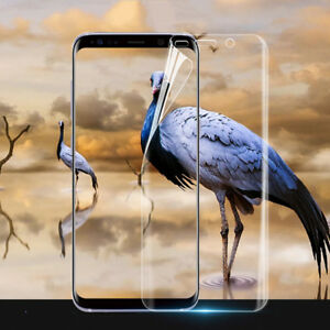 Full Soft Screen Protector Film For Samsung Galaxy S6 S7 edge S8 S9 Plus Note 8