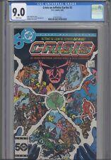 Crisis on Infinite Earths #3 CGC 9.0 1986 DC Mark Wolfman Story George Perez Art