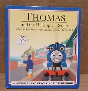 Lift the flap Thomas and the Helicopter Rescue A Revolving Picture Book train