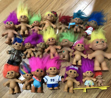 Lot Of 21 Russ troll Doll Items Jewel Surf