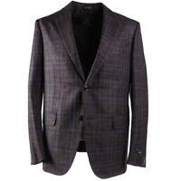 NWT $2595 ERMENEGILDO ZEGNA Slim-Fit 'Siena' Wool-Silk-Linen Sport Coat 42 R