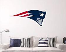 New England Patriots Wall Decal Sports Football Sticker Vinyl Decor NFL