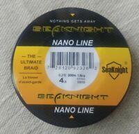 Nano Braided Fishing Line 300m 4 Strands Dia 0.07mm 4lb Strong