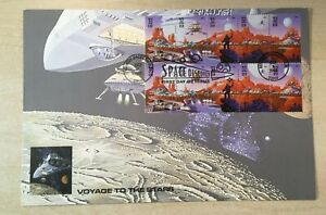 #3238-42 SPACE DISCOVERY KENNEDY SPACE CENTER 10 1 1998 MARS block of 10