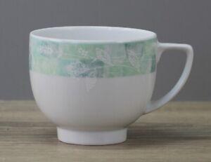 Friesland Venice 5240 Jade Garden Green Kaffeetasse Tasse OHNE Unterteller Ø 8cm