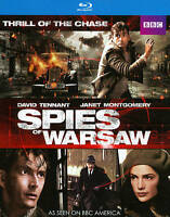 SPIES OF WARSAW (2013) BBC Blu Ray NEW No Digital with Slipcover