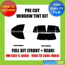 VW GOLF 5-DOOR 1998-2005 (MK4) FULL PRE CUT WINDOW TINT KIT