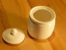 Steelite Distinction Monaco White Sugar Bowl w/Lid (9001C336)  - (Case of 6)