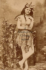 Vintage Beach Photo Bathing Beauty Mermaid Neptune's Daughter Long Hair RePrint