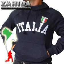 Running Jacket Italy Italia Pullover Black Collar S M L XL XXL NEW