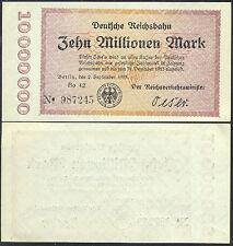 GERMANY  - 10  MILLIONEN  MARK 1923  P S1014  UNCIRCULATED
