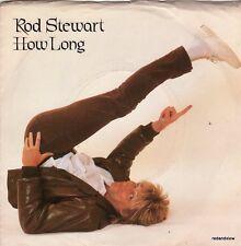 Rod Stewart 45 & PS How Long / Jealous M-