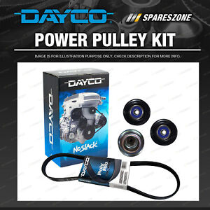 Dayco Drive Belt And Pulley Kit for Ford Fairlane BF Falcon BF FG FGX 4.0L