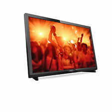 """Philips 24PHT4031 24"""" Inch FHD TV-Slim Black with Freeview Full HD"""