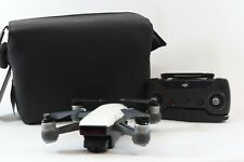 DJI Spark Mini Drone 2-Axis Gimbal Alpine White Kit Extras Included -BB 587-