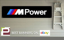BMW M POWER Workshop / Garage Banner with Eyelets, MSport, M3, M4