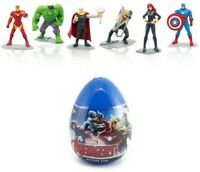Marvel Avengers Action Figure 6.5cm Hulk Iron Man Thor Cake Toppers Party Filler