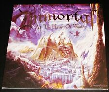 Immortal: At The Heart Of Winter LP Blue Color Vinyl Record 2017 Osmose Prod NEW