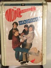 The Monkees - Headquarters SEALED !! 8 Track Tape Clamshell Intact Look
