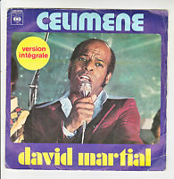 "David MARTIAL Vinyle 45T 7"" SP CELIMENE - TAMBA - CBS 4094 Version Intégrale"