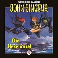 JOHN SINCLAIR  FOLGE 70 - DIE HEXENINSEL  CD NEU