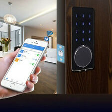 Electronic Keyless Bluetooth Smartcode Digital Door Lock Touch Password Deadbolt