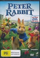 Peter Rabbit DVD NEW Region 2,4,5 Rose Byrne Sam Neill