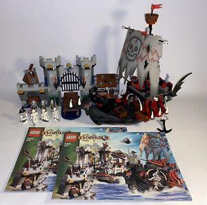 LEGO castle (Fantasy Era), Skeleton Ship Attack (7029) - 100% COMPLETE - NO BOX