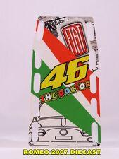 1:12 Pit board - pitboards Valentino Rossi Valencia 2007 no minichamps RARE