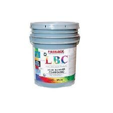 Fiberlock - LBC - Lead Barrier Compound -  Encapsulant - White - 5 Gal - 5801