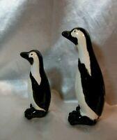 Two Global Views Ceramic Penguin Figurines