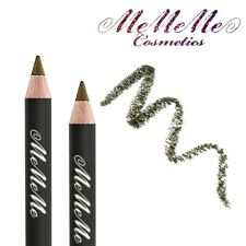 MeMeMe MOSS EYE LINE PENCIL Smokey Green Long Lasting Kohl Liner Makeup Compact