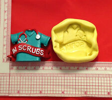 Medical Scrubs Silicone Mold A829 Candy Chocolate Fondant Soap Sugar Craft