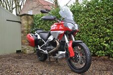 MOTO GUZZI STELVIO 1200 8V, 2010, VERY LOW MILEAGE.