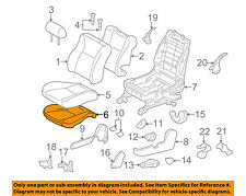TOYOTA Genuine 71072-02V41-B1 Seat Cushion Cover
