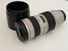 Canon EF 70-200mm F/2.8 L USM Lens Excellent Condition