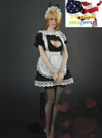 """1/6 Maid Dress open chest Lingeries for PHICEN Hot Toys 12"""" female Figure ❶USA❶"""