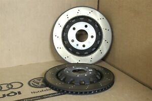 Audi RS4 RS5 B9 rear 330mm brake discs 8W0615601G New Genuine parts