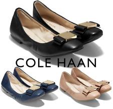 Women Cole Haan Ballet Flats Tali Bow Lightweight GrandOS Cole Haan Flats NEW
