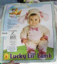 Vtg lucky lil lamb Baby toddler Halloween Costume Kids Toddler Sz 12-18 mths