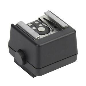 Blitzschuh Mount Adapter Blitzschuhadapter für Sony Alpha Konica Minolta Kamera❤