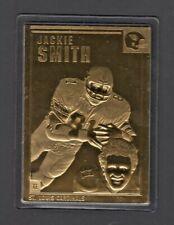 Jackie Smith 1990's Danbury Mint Encased 22kt Gold Football card #49 Cardinals